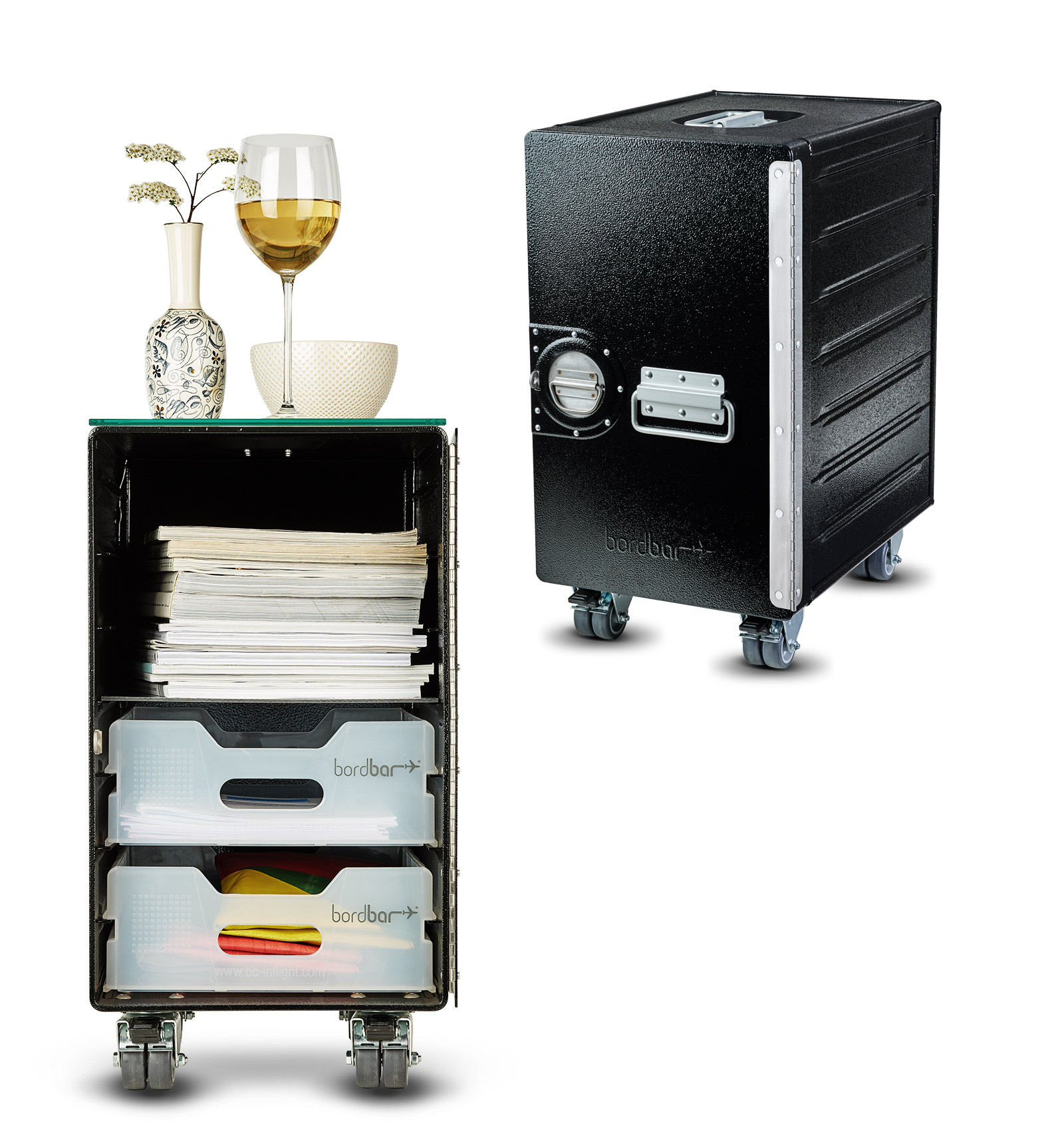 bordbar_box black | Kaffeetisch Equipment Set